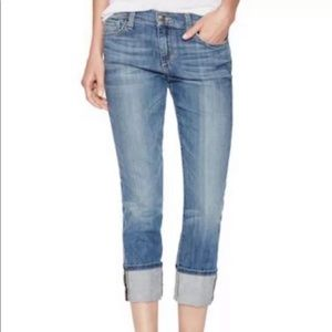 Joes Jeans Anisa Cuffed Cropped Jeans